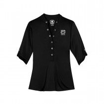 OGIO® HENLEY POLO: WOMEN